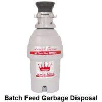 batch feed garbage disposal
