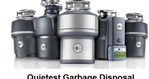 quietest garbage disposal