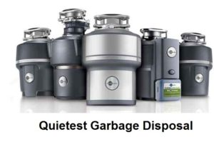 quietest garbage disposal