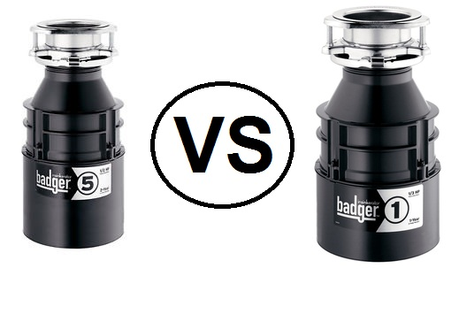 Badger 5 VS Badger 1