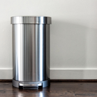 best stainless steel kitchen trash can