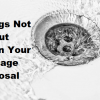 11 Things Not to Put in Your Garbage Disposal